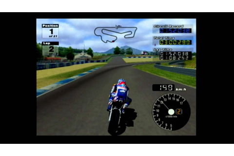 PlayStation 2 - MotoGP 3 - YouTube