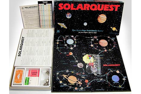 Retro Sci-Fi Games: Solarquest » Fanboy.com