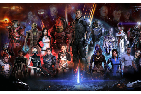 Mass Effect 3 game characters wallpaper | games ...
