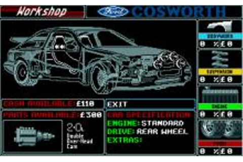 Lombard RAC Rally Download (1988 Amiga Game)