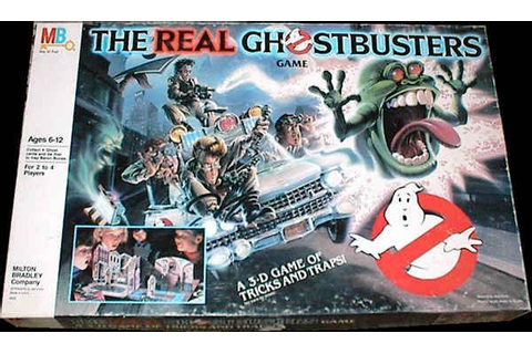 The Real Ghostbusters Game | Board Game | BoardGameGeek