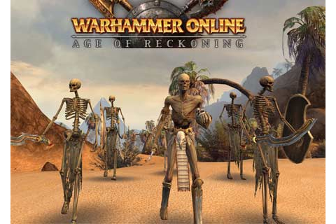 Mac version of Warhammer Online: Age of Reckoning game ...
