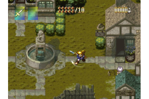The Adventures of Alundra (1997) by Matrix Software PS game