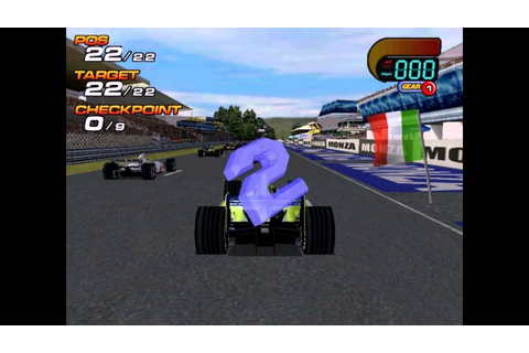 F1 World Grand Prix 2000 PC 2000 Gameplay - YouTube