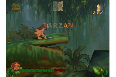 Tarzan Action Game (a.k.a. Disney's Tarzan) Download (1999 ...
