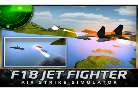 F18 Jet Fighter Air Strike for Android - Download