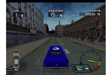Demolition Racer (PS1) - YouTube