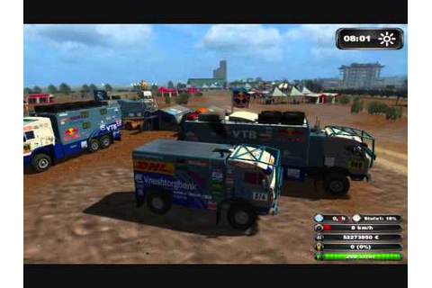 Paris-Dakar Rally in LS11 Kamazmaster Team - YouTube