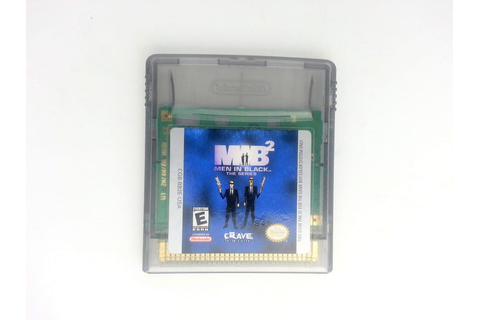 Men in Black the Series 2 game for GameBoy Color (Loose ...