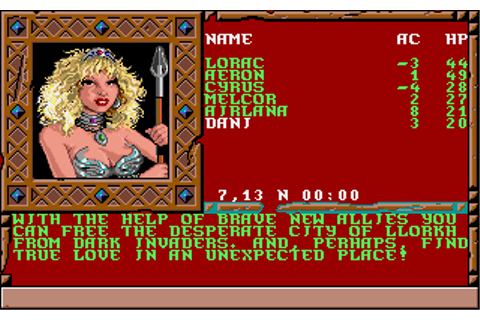 Treasures of the Savage Frontier Screenshots for Amiga ...