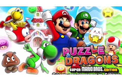 Puzzle & Dragons: Super Mario Bros. Edition demo available ...
