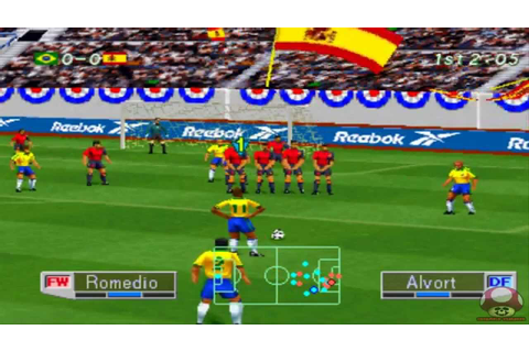 Intro + Gameplay: International Superstar Soccer Pro 98 ...