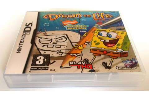 DRAWN TO LIFE SPONGEBOB SQUAREPANTS EDITION for Nintendo ...