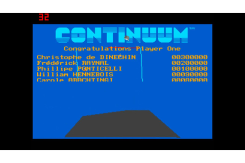 """Continuum"" Rare PC Game- 1990 - YouTube"