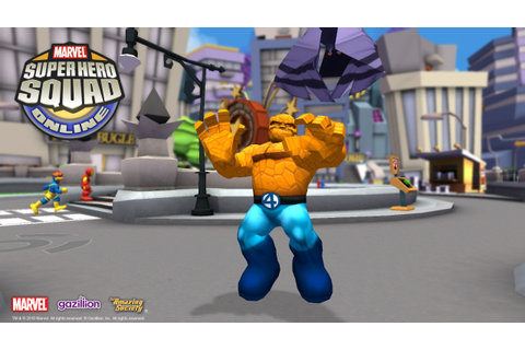 Marvel Super Hero Squad Online Review – MMOBomb.com