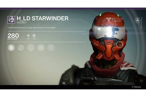 H ld Starwinder - Destiny Wiki Guide - IGN