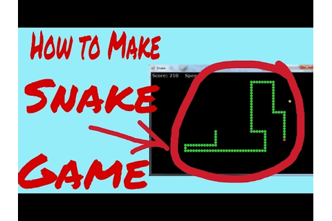 HOW TO MAKE SNAKE GAME USING NOTEPAD - YouTube