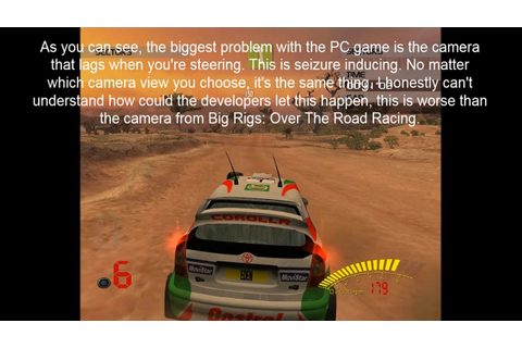 The worst PC port of a racing game EVER - V-Rally 3 - YouTube