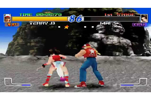 Fatal Fury: Wild Ambition. (PS1) - YouTube
