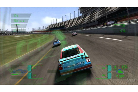 NASCAR 08 Xbox 360 Gameplay - Drafting (HD) - YouTube