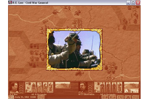Robert E. Lee: Civil War General Download (1996 Strategy Game)