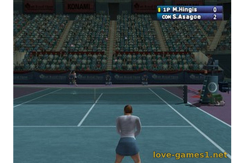 Скачать [PS2] WTA Tour Tennis (Pro Tennis WTA Tour) [ENG ...