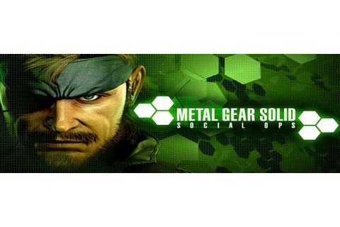 Konami's Metal Gear Solid: Social Ops hits Google Play ...