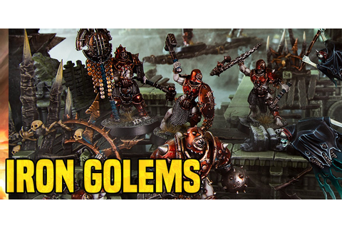 AoS: The Iron Golems Rules Preview - Bell of Lost Souls