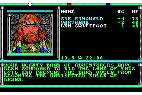 Champions of Krynn | Old DOS Games | Download for Free or ...