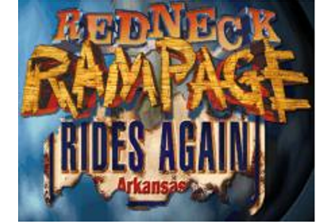 Redneck Rampage Rides Again Download (1998 Arcade action Game)