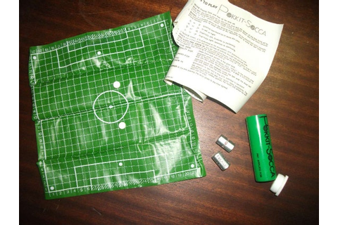 Pokkit-Socca A Pocket sized Football Soccer Dice Game in a