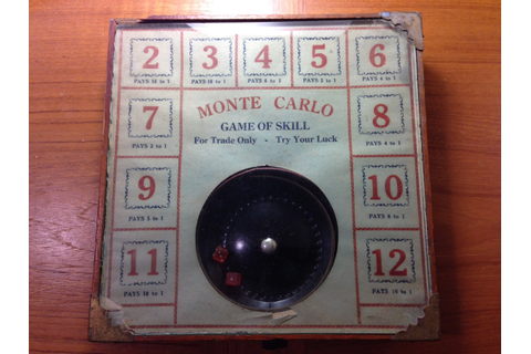 Monte Carlo Game of Skill For Trade Only Try Your Luck ...