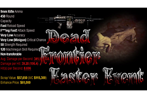 Dead frontier lets play with ekloo #30 Testing out the ...