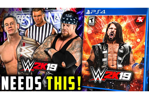 WWE 2K19 Needs To HAVE This BACK! | Special Referee In WWE ...