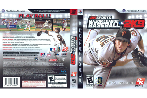 BLUS30276 - Major League Baseball 2K9