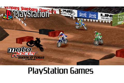 Moto Racer World Tour (Quick Gameplay) Playstation - YouTube
