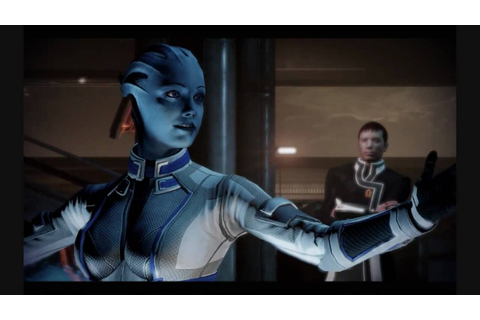 Mass Effect 2 Lair of the Shadow Broker - Liara Romance ...