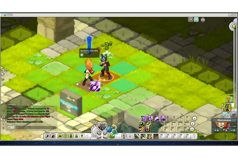 Wakfu Gameplay: Iop Class - YouTube