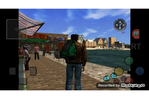 Android DreamCast Emulator ReiCast Shenmue 2 Game Play ...