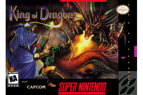 King of the Dragons SNES Super Nintendo