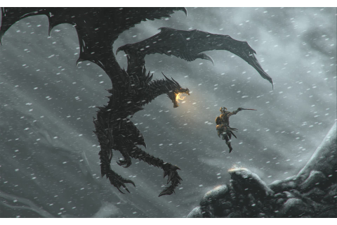 The Elder Scrolls V: Skyrim, Video Games, Alduin, Dragon ...