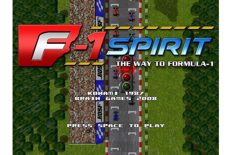 Download F-1 Spirit action, full free version - Free Games ...