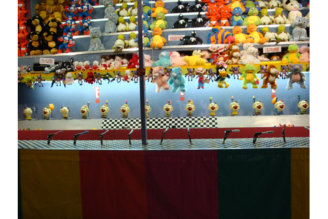 Traveling Carnival Balloon Water Race Game ...