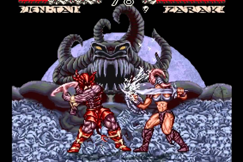 Best Fighting Game on SNES! WeaponLord Final Boss & Ending ...