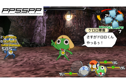Heroes Phantasia - PSP Gameplay (PPSSPP) 1080p - YouTube