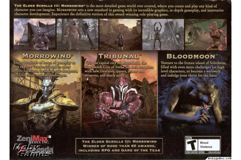 Picture of The Elder Scrolls III: Morrowind - Game of the ...