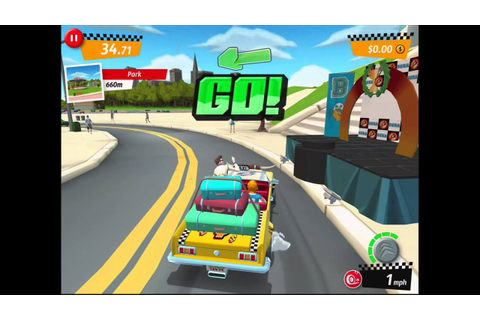 Crazy Taxi: City Rush - First Gameplay Footage - YouTube