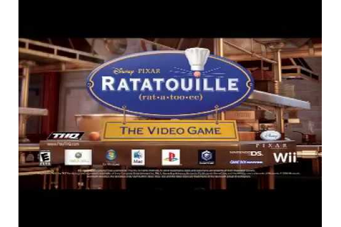 Ratatouille video game trailer - YouTube