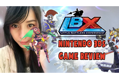 LBX: Little Battlers eXperience 3DS | Nintendo Nyan-view ...