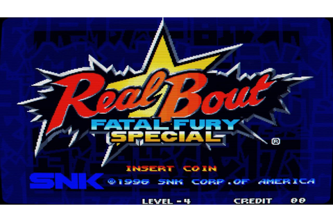 Real Bout Fatal Fury Special (Arcade Game Intro) - YouTube